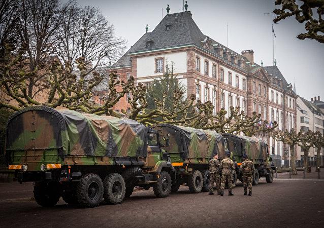 L'Opération Sentinelle à Strasbourg.