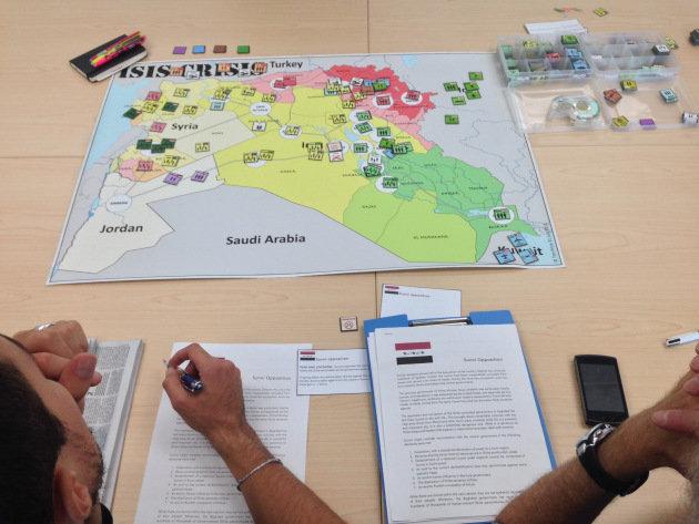 Le jeu ISIS Crisis