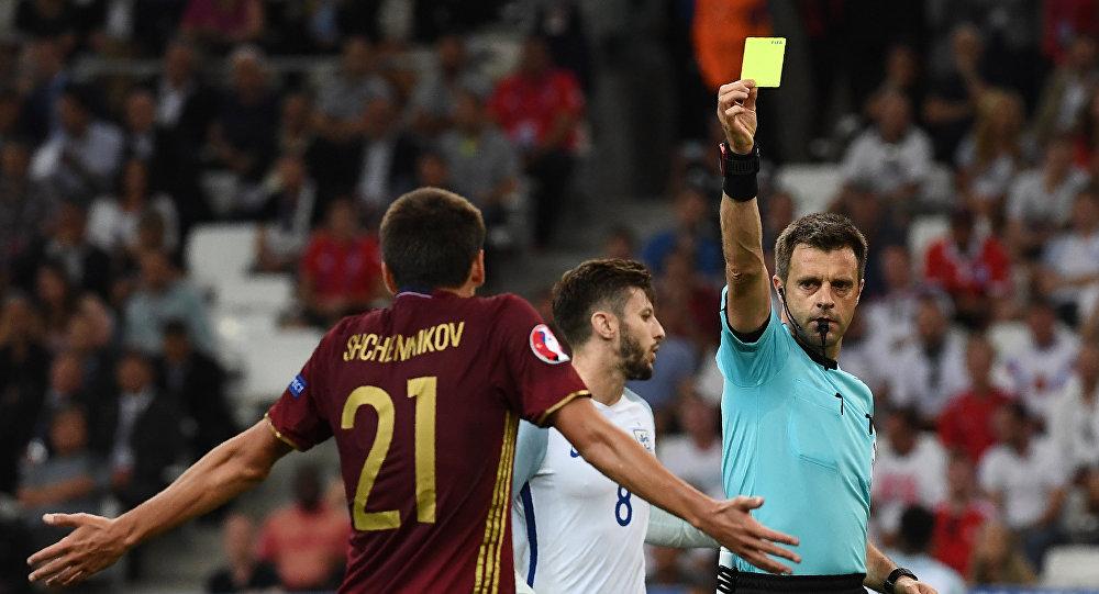 Le joueur de l'équipe russe lors du match de l'Euro 2016