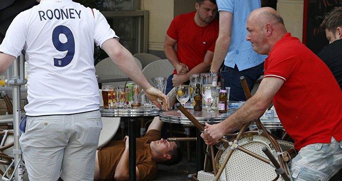 Incident impliquant des supporters gallois