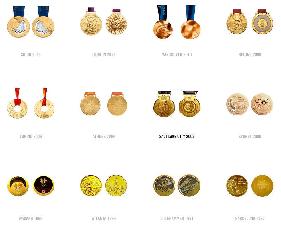 médailles olympiques