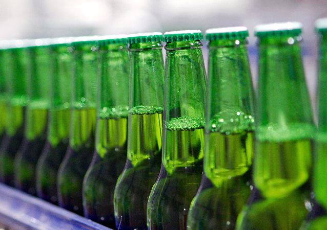 Des bouteilles de bière