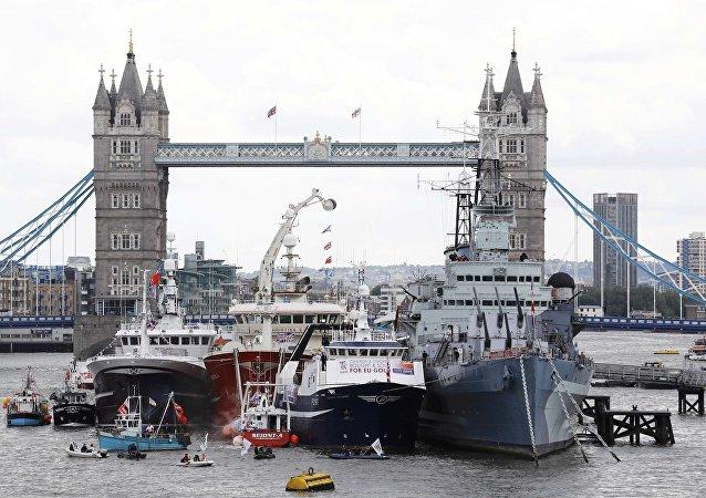 Bataille navale sur la Tamise