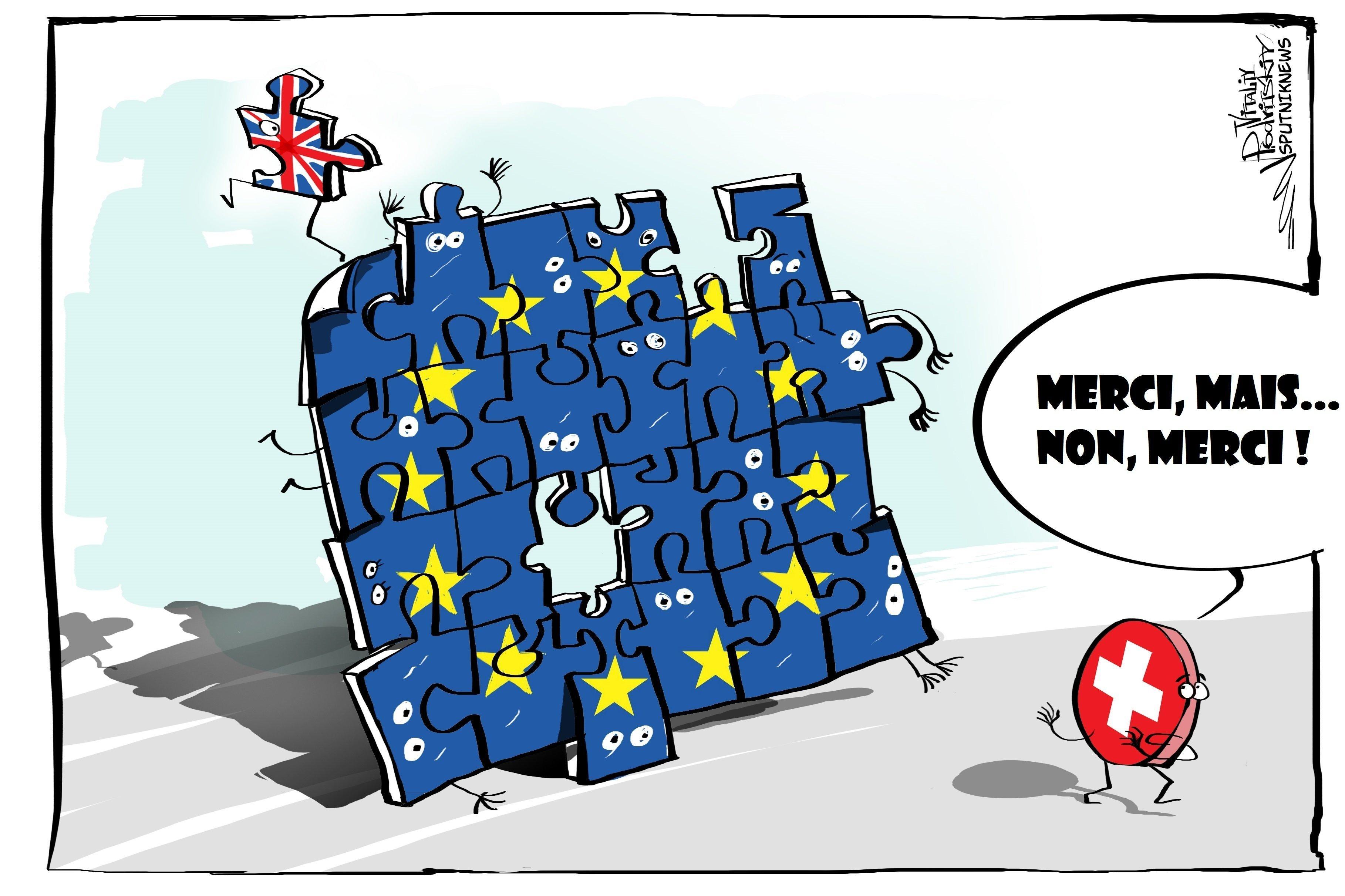 La Suisse enterre l'idée d'adhésion à l'UE
