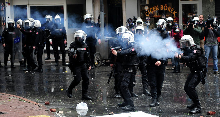Police turque à Istanbul (archives)