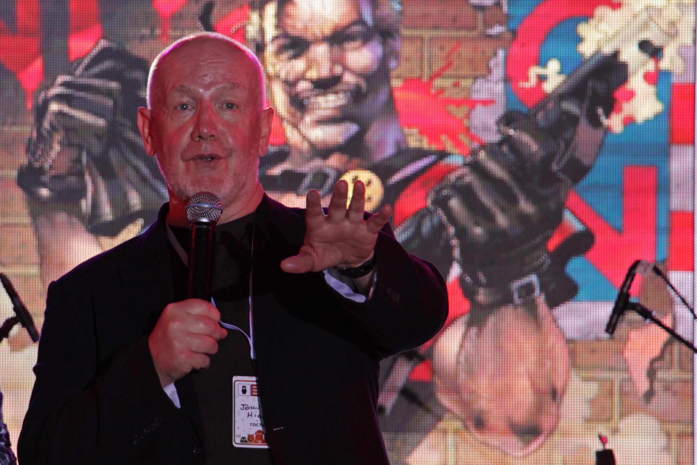 John Higgins intervient devant ses fans, Moscow Comic Convention