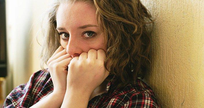 Une jeune fille. Image d'illustration