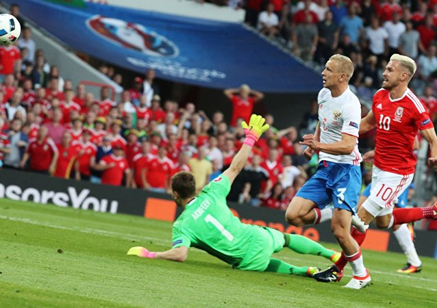 Football. European Championship - 2016 match Russia - Wales