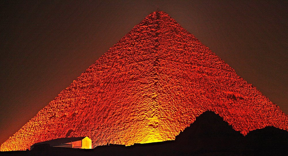 Grande pyramide de Gizeh