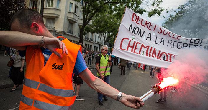 Manifestation contre la loi travail à Paris, 23 juin 2016