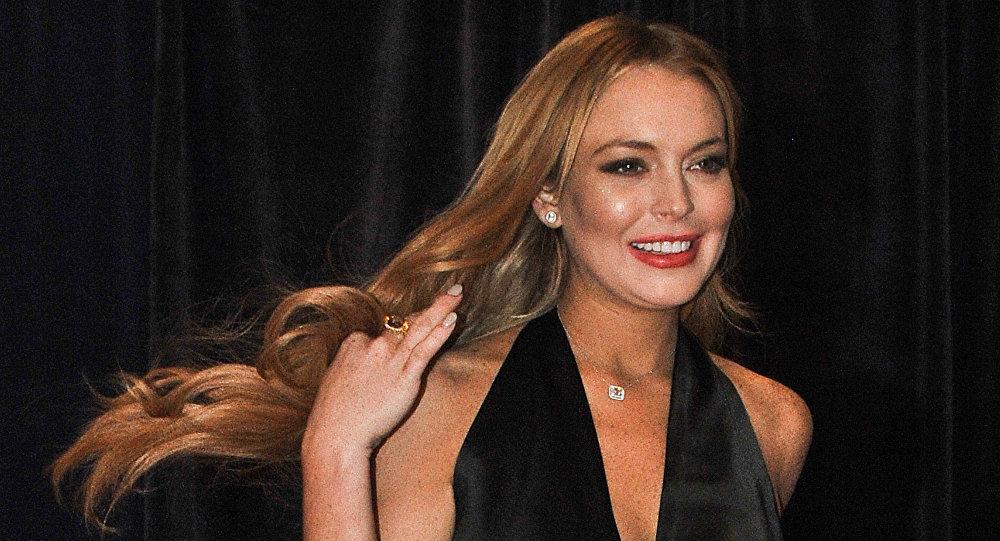 Lindsay Lohan tente d'emmener un enfant de force (vidéo)