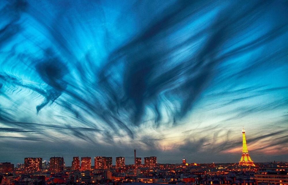 Le ciel de nuit à Paris