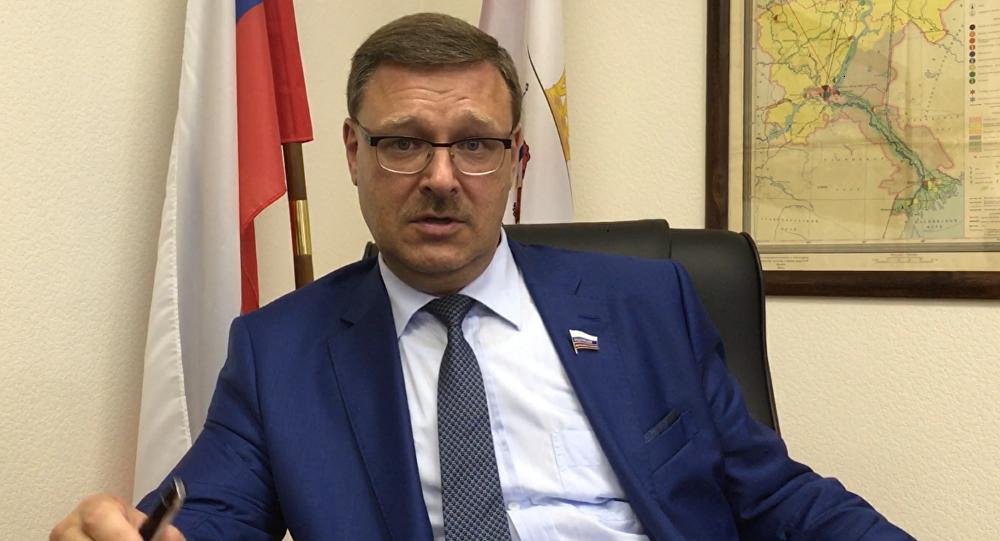 Le président du Comité des affaires étrangères du Conseil de la Fédération Konstantin Kossatchev