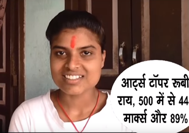 Une élève modèle à l'indienne: politologie signifie cuisine