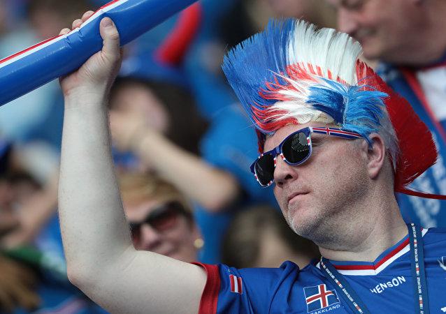 Le supporteur islandais
