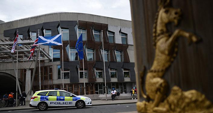 Le bâtiment du Parlement écossais
