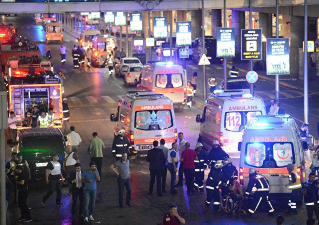 Situation à l'aéroport d'Istanbul
