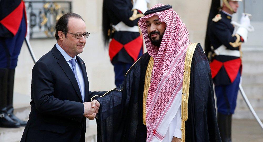 François Hollande et Mohammed ben Salmane, juin, 27, 2016