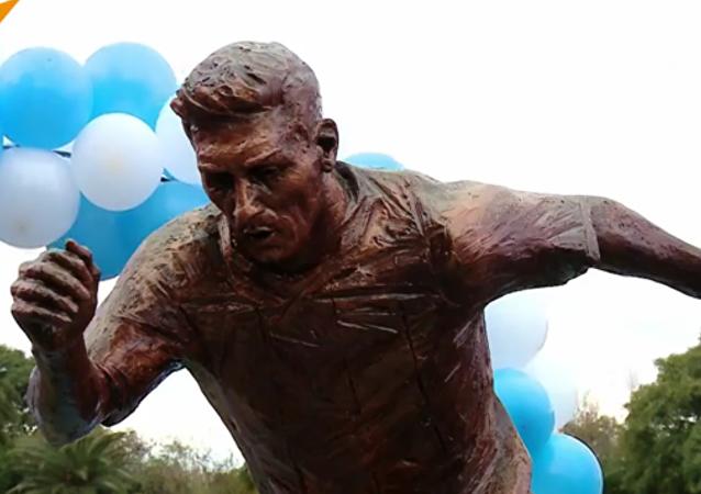 Une statue pour Lionel Messi à Buenos Aires