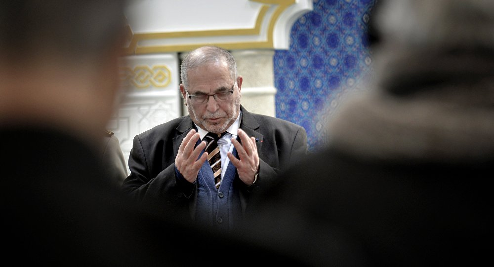 Recteur de la Grande mosquée de Lyon, Kamel Kabtane. Archive photo