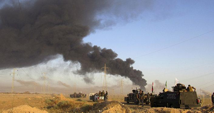 Frappe de la coalition US en Irak