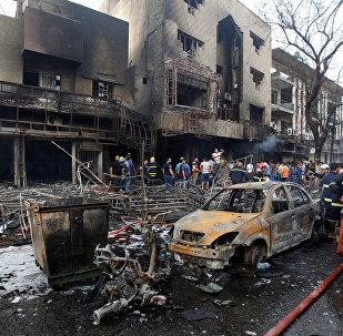 Attentat de Bagdad à voiture piégée