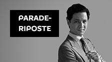 Parade-riposte avec Edouard Chanot