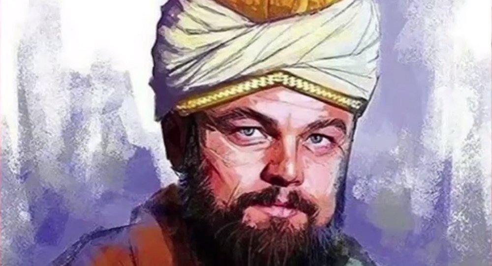 L'image de l'acteur Leonardo DiCaprio déguisé en Rumia