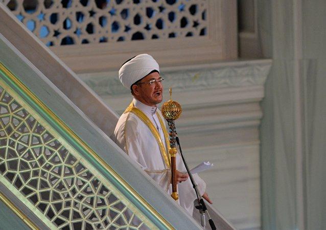Le président du Conseil des muftis de Russie, Ravil Gaïnoutdine