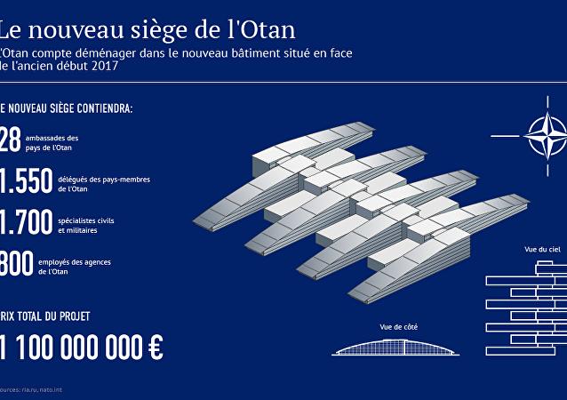 Le nouveau siège de l'OTAN