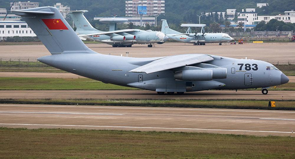 L armee chinoise se dote du plus grand avion porteur du monde - Plus grand porte avion du monde ...