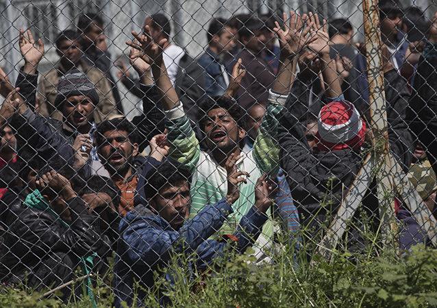 Des migrants africains se ruent vers les Etats-Unis