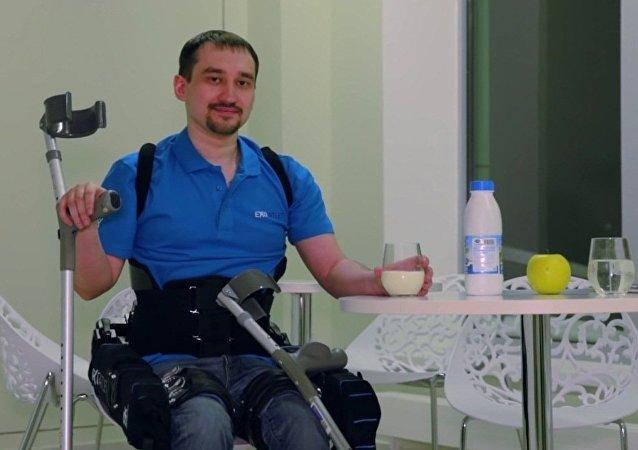 Le premier exosquelette russe mis en vente