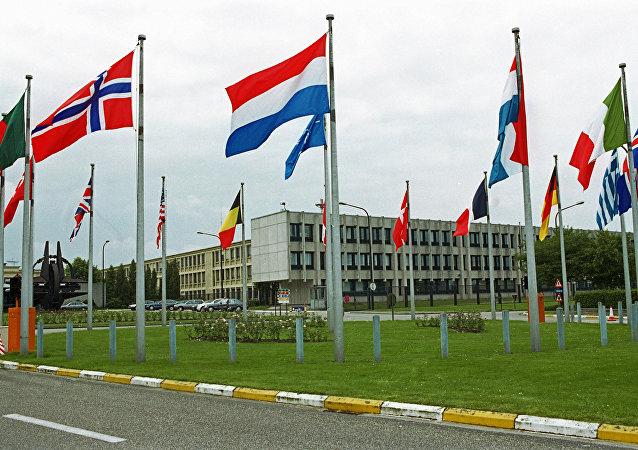 L'état-major de l'Otan à Bruxelles
