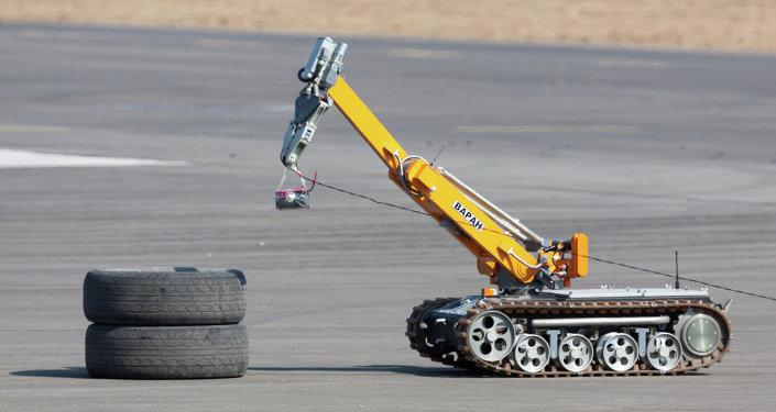 Un robot-sapeur