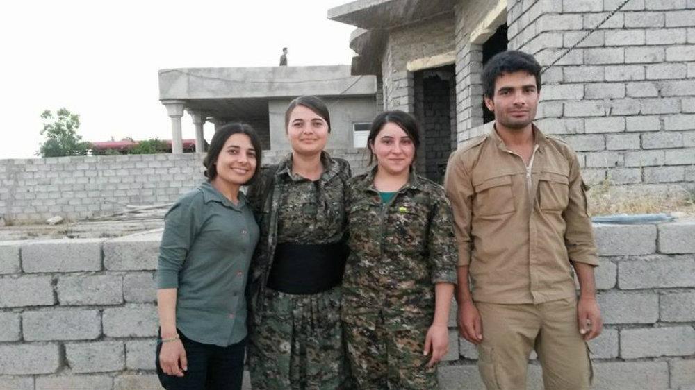 Les combattants yézidis- © Sputnik.