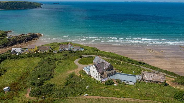 La maison mise en vente au Pays de Galles