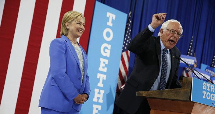 Clinton et Sanders