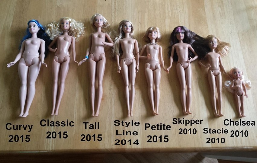 Barbie Bodies