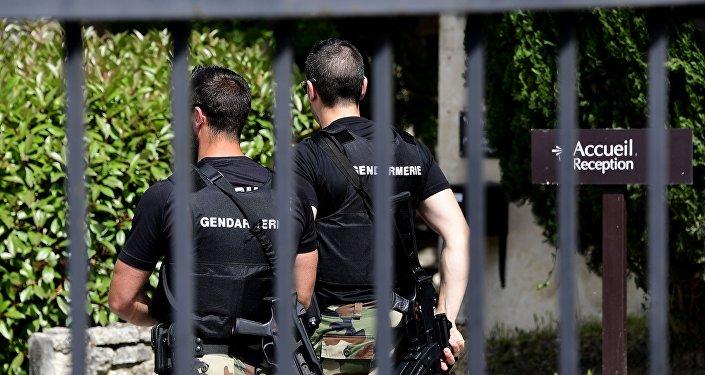 Police autrichienne. Image d'illustration