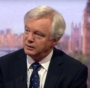 Le nouveau ministre britannique du Brexit David Davis
