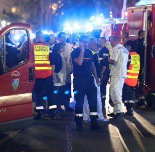 Sur les lieux de l'attentat de Nice