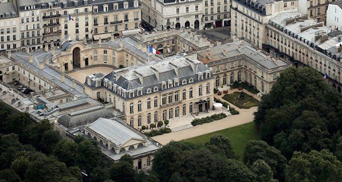 Le palais de l'Élysée