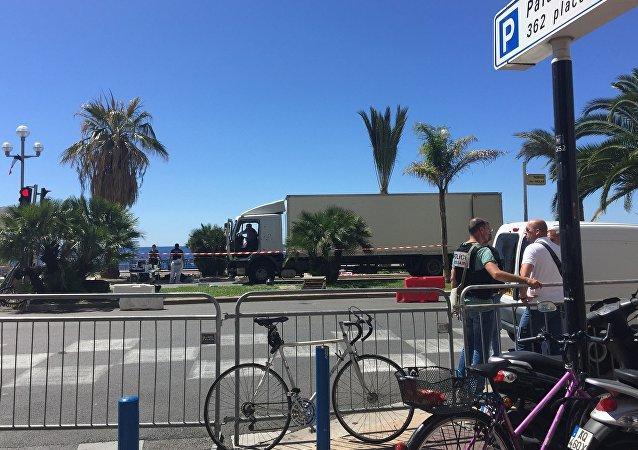 Nice après l'attaque au camion du 14 juillet