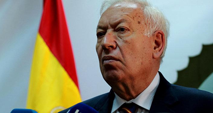 José Manuel García-Margallo, ministro de Exteriores de España