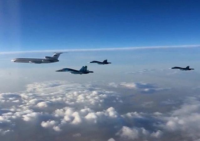 Des avions russes en Syrie