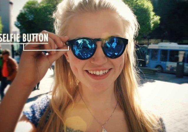Lunettes pour prendre des selfies