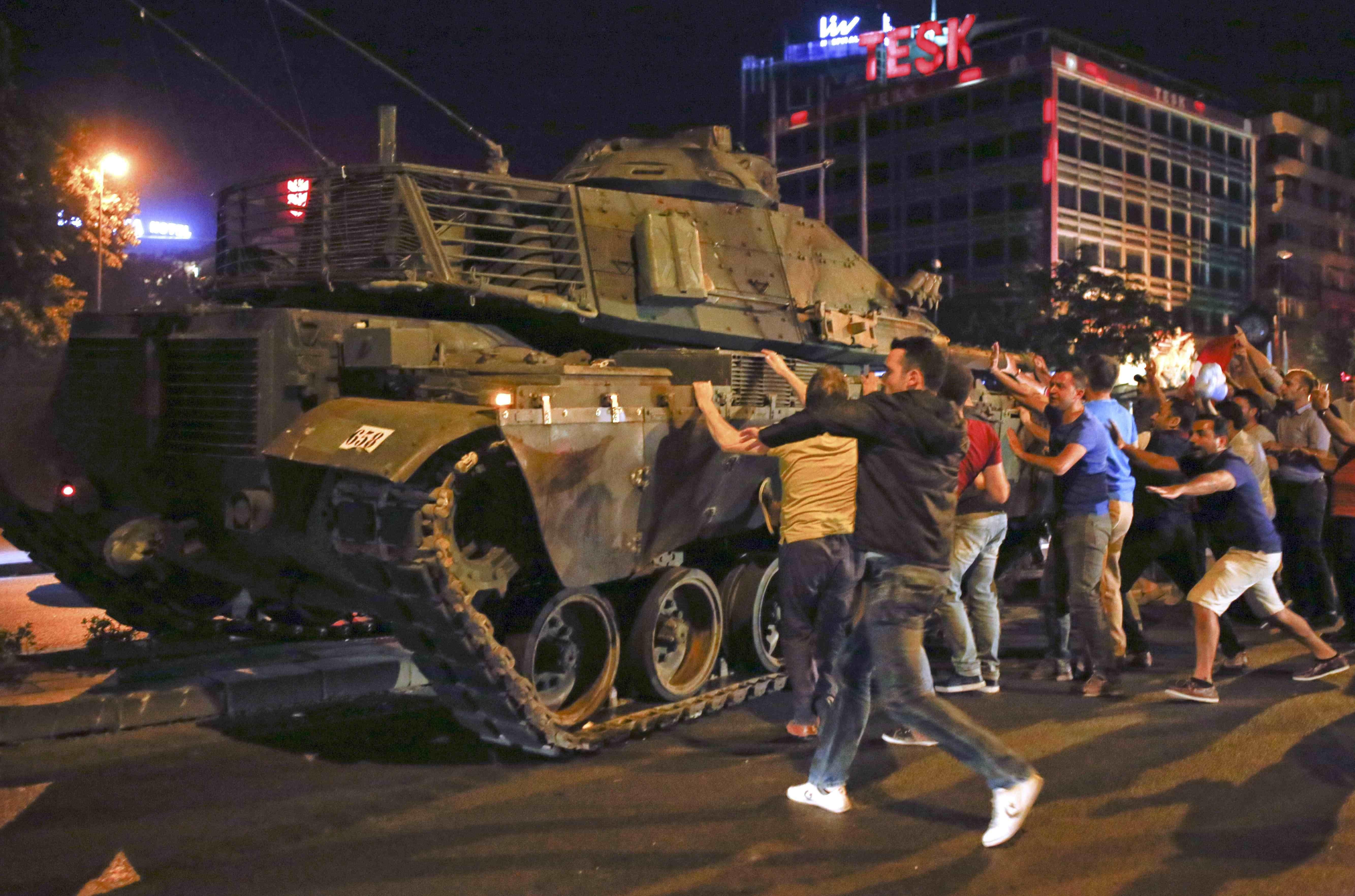 Putsch à Ankara