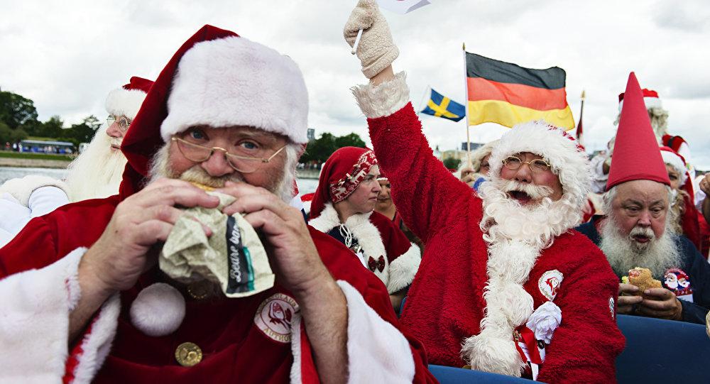 Esprit de Noël? Un «Père Noël» braque une banque US