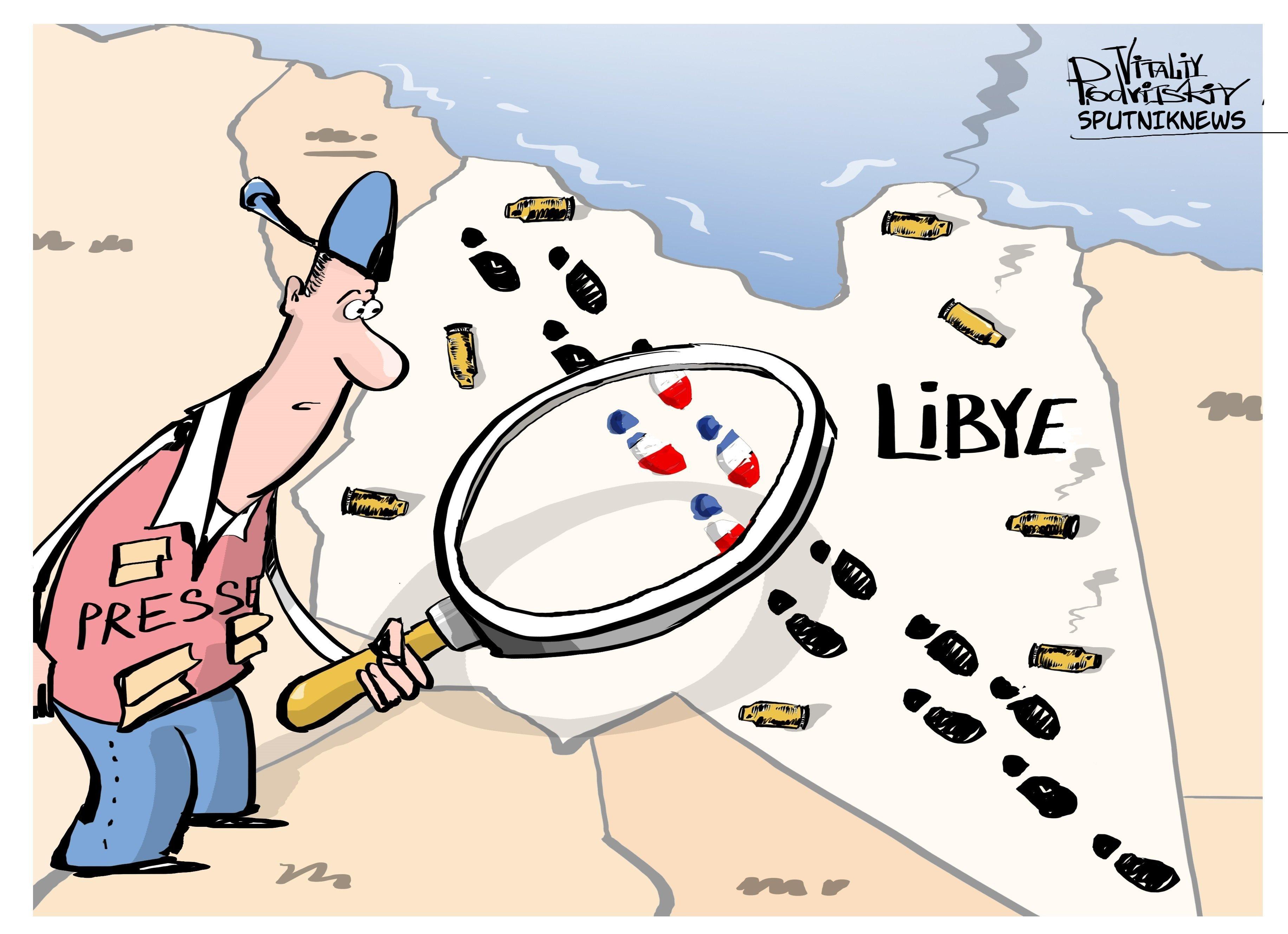 Piste française en Libye